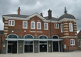 Clapham Junction Railway Station South Western Entrance.jpg