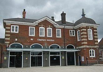 Clapham Junction railway station - South West (Brighton Yard) entrance