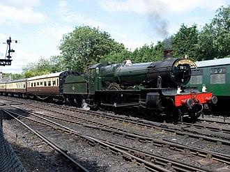 GWR 7800 Class - Image: Class 78xx No 7812 Erlestoke Manor (8063163476)