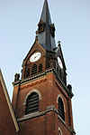 Clock tower, Sewickley.jpg