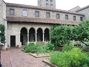 Inwood, Manhattan - The Cuxa Cloister, at The Cloisters