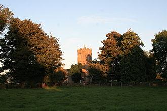 Clonard Abbey - Disused Anglican church at the monastic site of Clonard