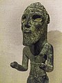 Closeup of Standing Warrior Copper Levant (possibly Lebanon) Mid-3rd millennium BCE (16355983118).jpg