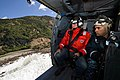 Cmdr. and Kaikoura Mayor survey the damage to local infrastructure in New Zealand. (30973005791).jpg
