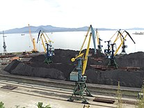 Coal in port of Nakhodka.JPG