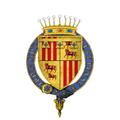 Coat of Arms of Gaston de Foix, Captal de Buch, KG.png