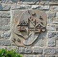 Coat of arms on a house, Bolton by Bowland - geograph.org.uk - 1376275.jpg
