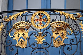 Coats of arms, balcony of Capitole of Toulouse 18.JPG