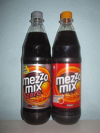 Mezzo Mix - Coca Cola Mezzo Mix and Mezzo Mix Zero