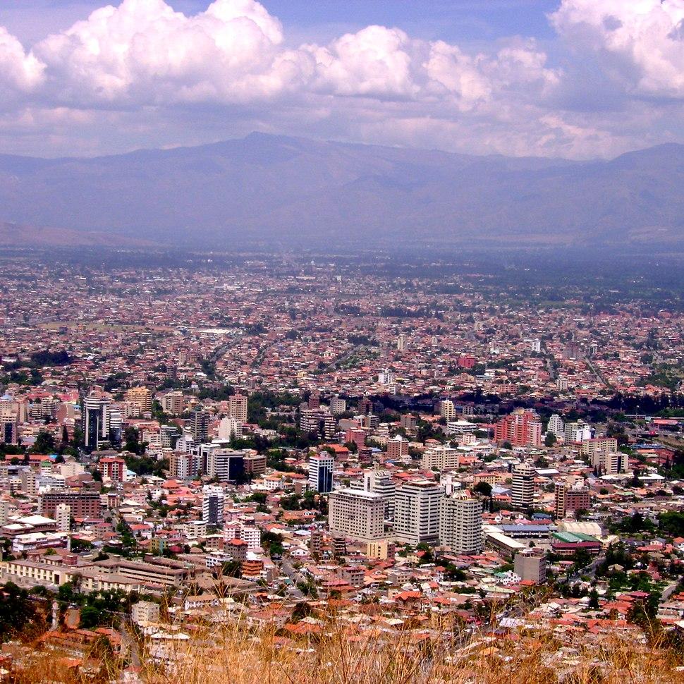 Cochabamba panorama (cuadrado - square)