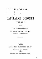 Les Cahiers du capitaine Coignet