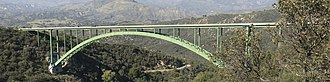 Cold Spring Canyon Arch Bridge - Image: Cold Spring Canyon Arch Bridge (2)