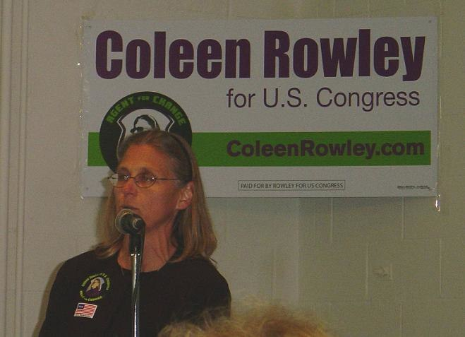 Coleen Rowley 17 Sep 2006