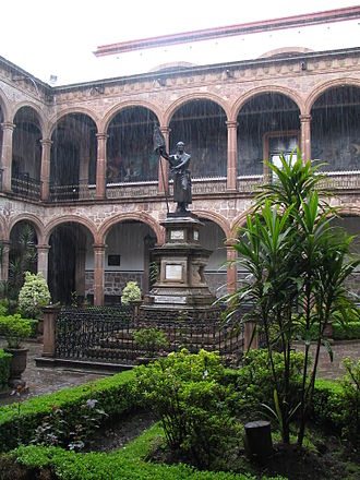 Universidad Michoacana de San Nicolás de Hidalgo - St Nicholas College, the oldest college in the New World, is now part of the University.