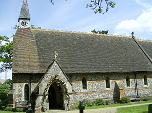 Coleshill, Buckinghamshire - Image: Coleshill Church