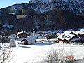 Colfosco,1650 m View of Ciasa Surarù from church (2009) - panoramio.jpg