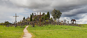 Hill of Crosses - General view of the Hill of Crosses