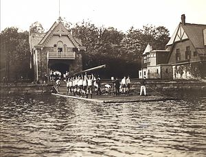 College Boat Club - Image: College BC1904