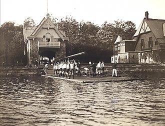 College Boat Club - Image: College BC1904