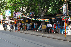 College Street (Kolkata) - Small bookstores along College Street