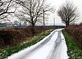 Collingham Lane in winter - geograph.org.uk - 1111661.jpg
