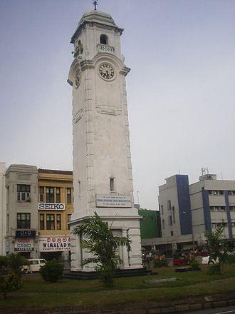 Pettah, Sri Lanka - Image: Colombo torre