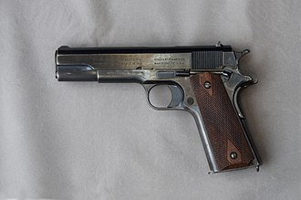 Semi-automatic pistol - Image: Colt 1911 .45 246524 L DSC 3330