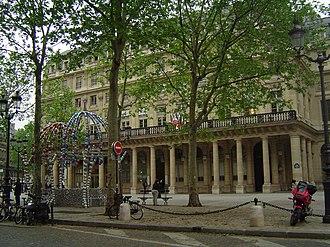 Palais Royal – Musée du Louvre (Paris Métro) - Image: Comédie Française