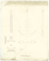 Comparison draught between the anchor design of Perring's, Lt. Roger's, and a new anchor RMG J0552.png