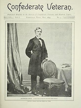 Confederate Veteran - Confederate Veteran, cover dated May 1893