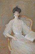 Consuelo Vanderbilt, Duchess of Marlborough, by Paul César Helleu
