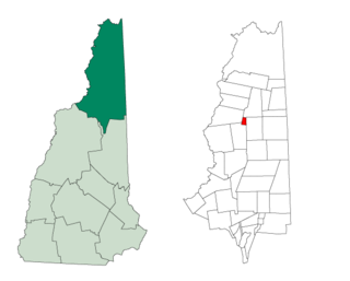 Ervings Location, New Hampshire Township in Coos County, New Hampshire, United States