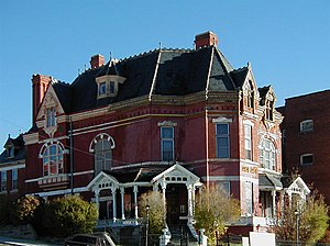 National Register of Historic Places listings in Silver Bow County, Montana - Image: Copper King Mansion (Butte) 2002 05