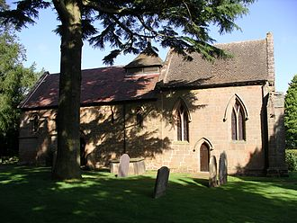 Corley - Image: Corley church 2s 07