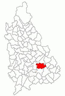 Cornățelu Commune in Dâmbovița, Romania
