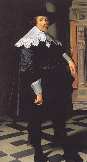 Cornelis de Graeff - Portrait by Nicolaes Eliaszoon Pickenoy, (1636), Gemäldegalerie, Berlin