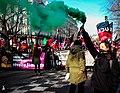 Cortège de l'Union libertaire à la manifestation du 11 janvier 2019 à Paris.jpg