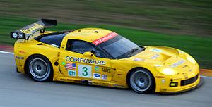 Chevrolet Corvette C6.R - Image: Corvette C6R Road America 3