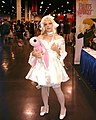 Cosplayer of Chi, Chobits at Anime Expo 2003-07.jpg