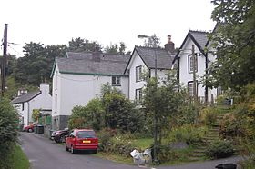 Cottages in Aberangell - geograph.org.uk - 1431285.jpg