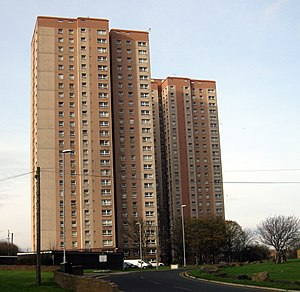 Cottingley Towers and Cottingley Heights - Image: Cottingley Towers Cottingley Heights 17 Nov 2017