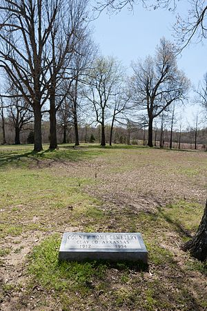 National Register of Historic Places listings in Clay County, Arkansas - Image: County Home Cemetery