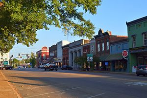 Canton, Mississippi - Courthouse Square