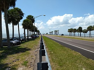 Courtney Campbell Causeway - Image: Courtney Cambell Causeway 04