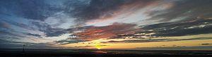 Crosby, Merseyside - Crosby sunset