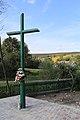 Cross of the Memory of Fallen Polish Soldiers in Dytiatyn, Ukraine.jpg