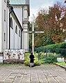 Cross outside the Church of St. Bernardino of Siena in Kraków.jpg