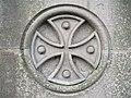 Cross symbol, Aughnacloy - geograph.org.uk - 598438.jpg