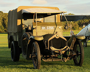 Crossley Motors - Crossley 20/25 Tender (1914) from  Shuttleworth Collection