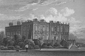 Earl of Sefton - Croxteth Hall, ancestral home of the Earls of Sefton.